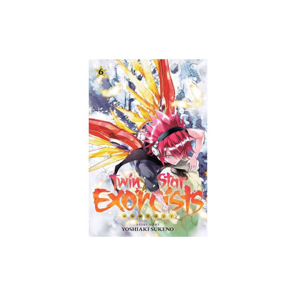 Twin Star Exorcists 6 : Shonen Jump Manga Edition (Paperback) (Yoshiaki Sukeno)