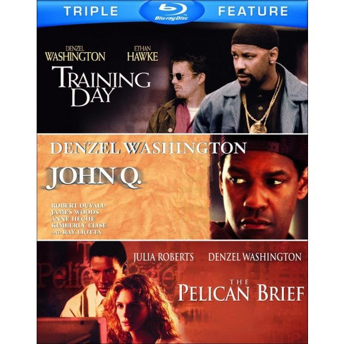 John Q./The Pelican Brief/Training Day (3 Discs) (Blu-ray) - image 1 of 1