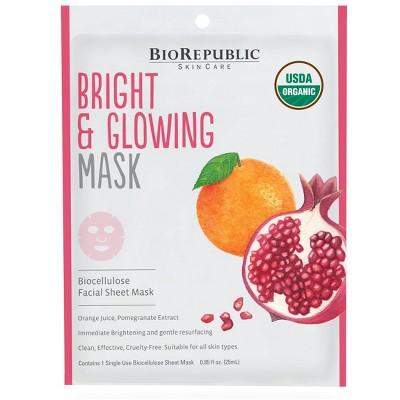 BioRepublic SkinCare Bright and Glow Facial Treatment - 0.85 fl oz