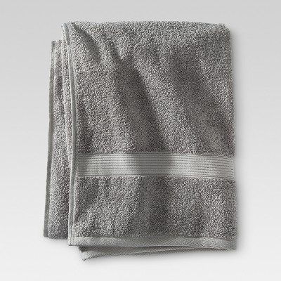 Performance Solid Bath Towel Classic Gray - Threshold™