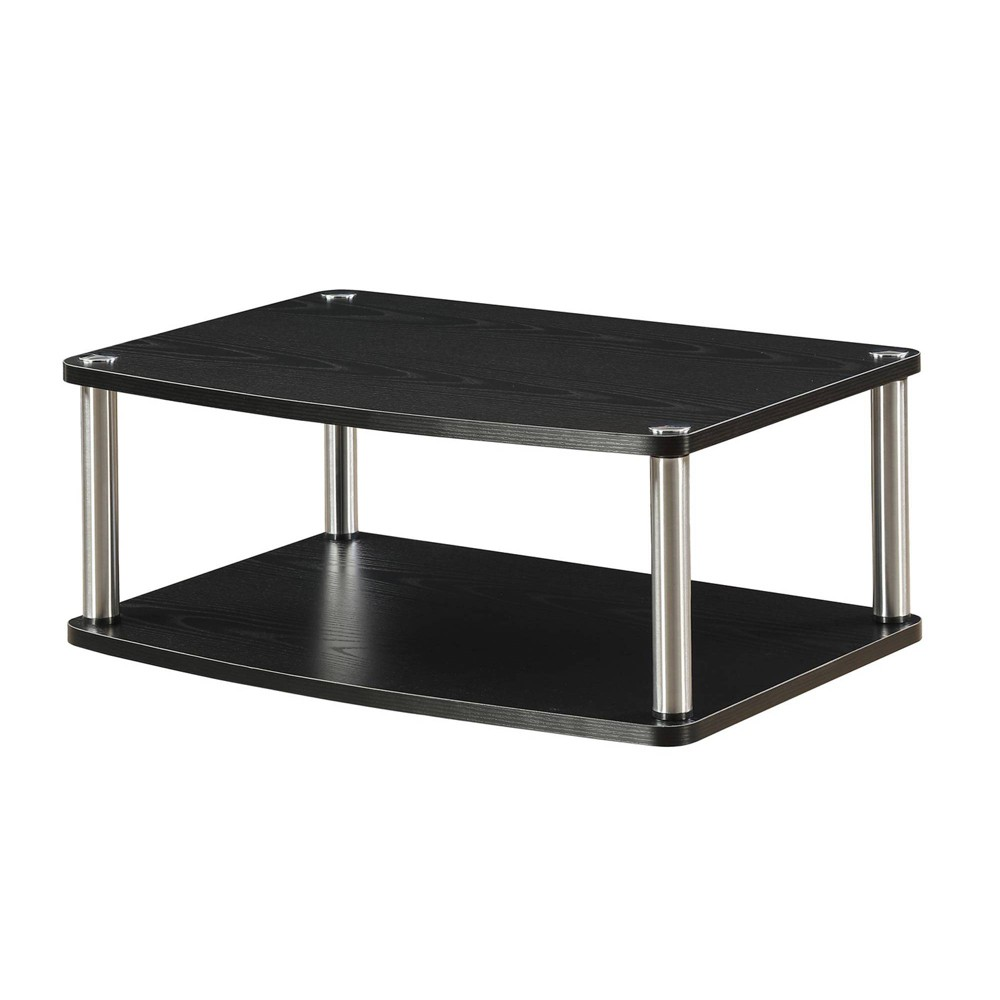 "Image of ""24"""" TV/Monitor Double Swivel Stand Black - Johar Furniture"""