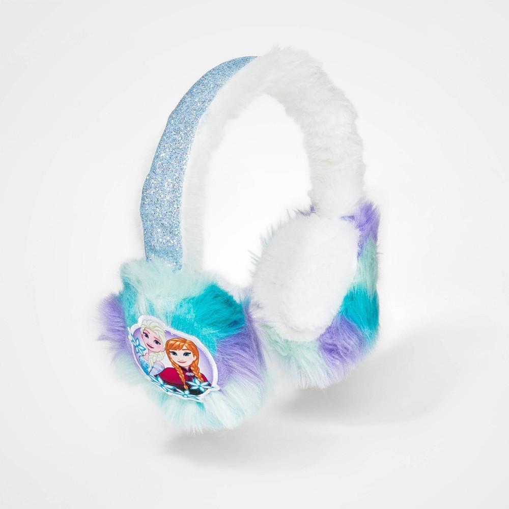 Image of Girls' Frozen Earmuffs - Blue One Size, Girl's