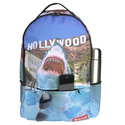 Granule 18\' Hollywood Shark Print Backpack