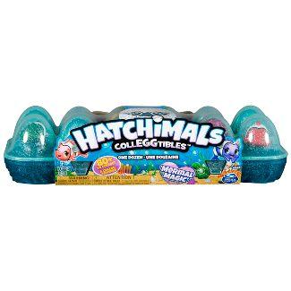 Hatchimals CollEGGtibles Mermal Magic 12pk Egg Carton with Season 5 Hatchimals