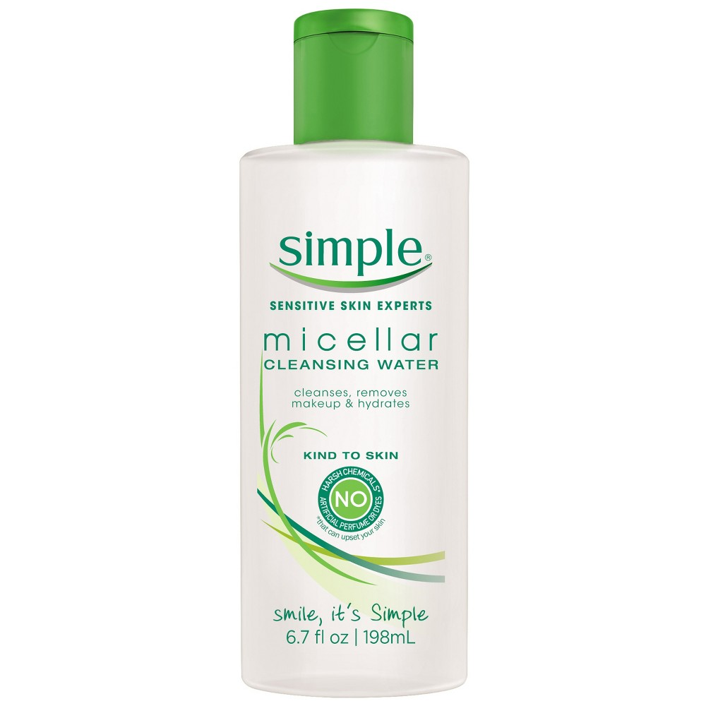 Image of Unscented Simple Micellar Cleansing Water - 6.7oz