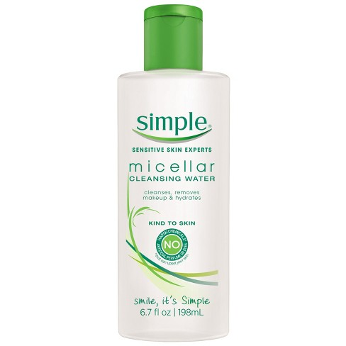 Unscented Simple Micellar Cleansing Water - 6.7oz - image 1 of 4