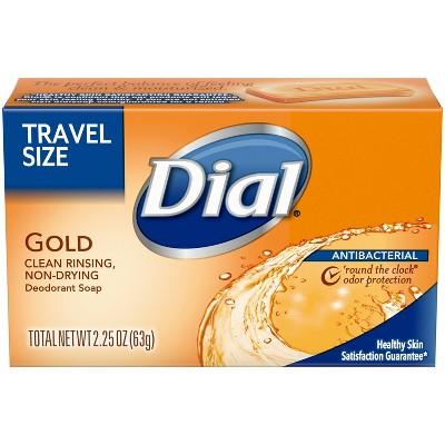 Dial Antibacterial Gold Bar Soap - Trial Size - 2.25oz