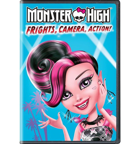 Monster High: Frights Camera Action (DVD) - image 1 of 1