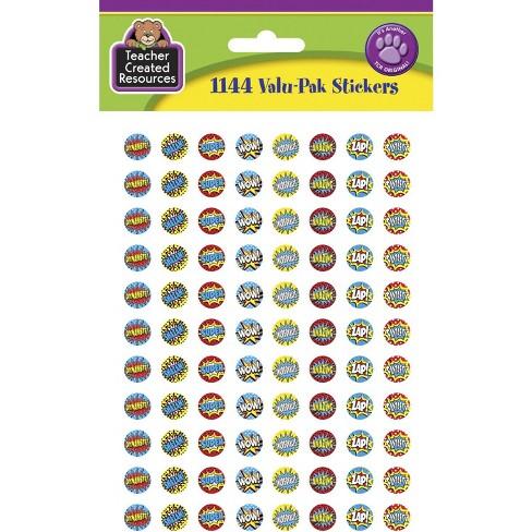 Teacher Created Resources Valu-pk Mini Stickers, Super Hero, set of 1144 - image 1 of 1