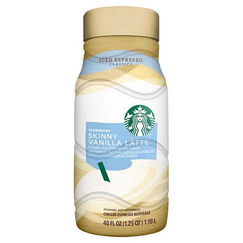 Starbucks Iced Expresso Skinny Vanilla Latte Coffee Beverage - 40oz - image 1 of 3