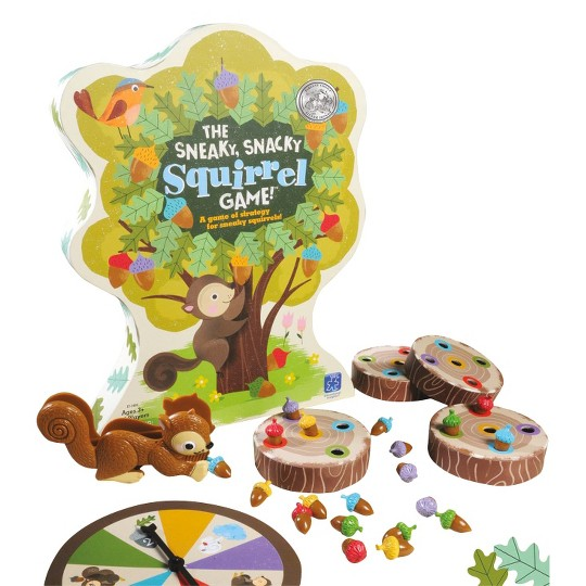 The Sneaky, Snacky Squirrel Game!, Kids Unisex image number null