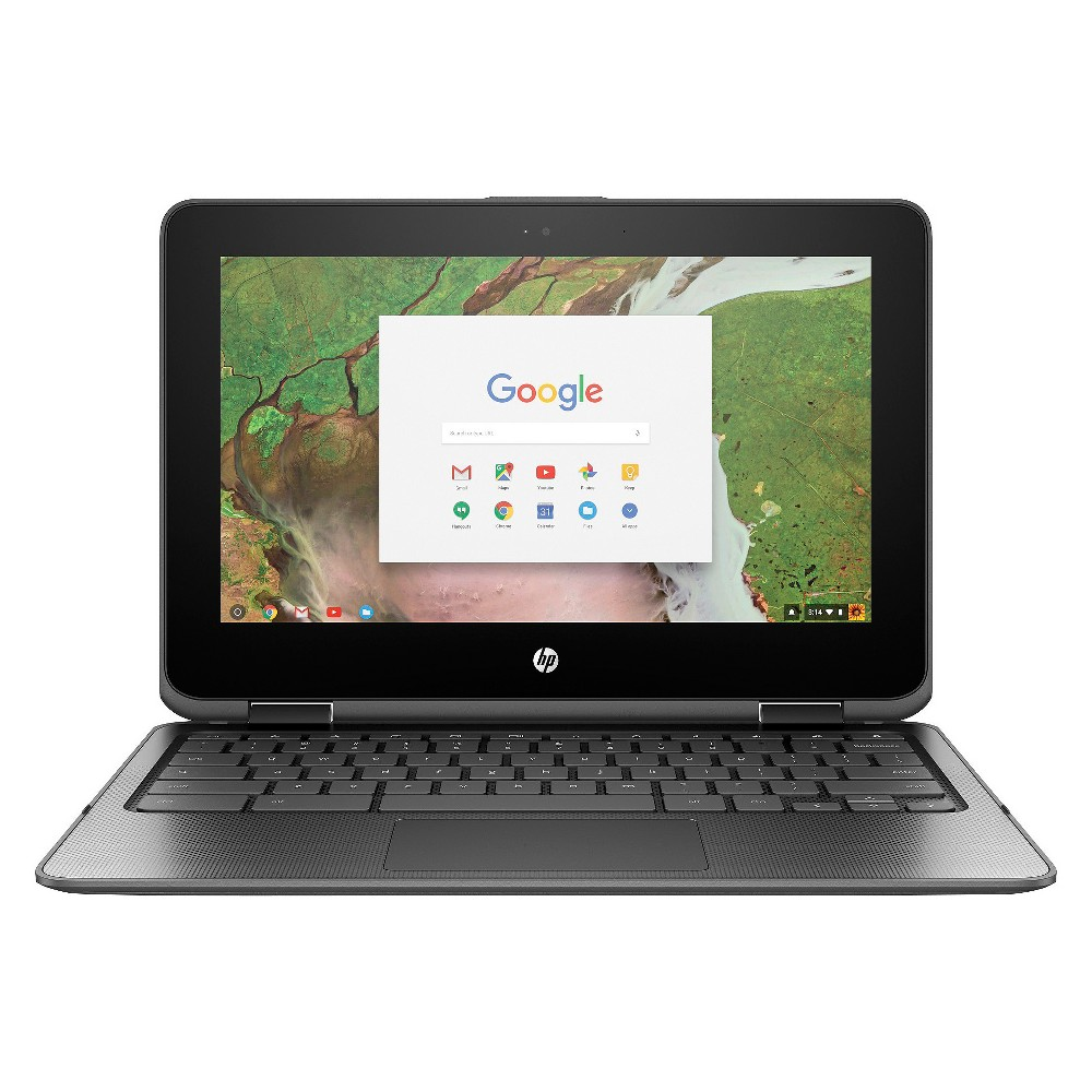 HP X360 Convertible Touchscreen Chromebook 11-AE027NR 11.6 Laptop Cloudy Gray, Cloudy Grey The HP X360 Convertible Chromebook 11 gives you the power and functionality you want from your portable computer without all the extra bells and whistles you don't need. Its Chrome OS platform is optimized for Google's app suite, so it's the perfect option for the classroom or as an on-the-go computer. And thanks to up to 10 hours of battery life and lightning-fast wireless connectivity, this powerful chromebook computer is ready to work whenever you are. Color: Cloudy Grey.