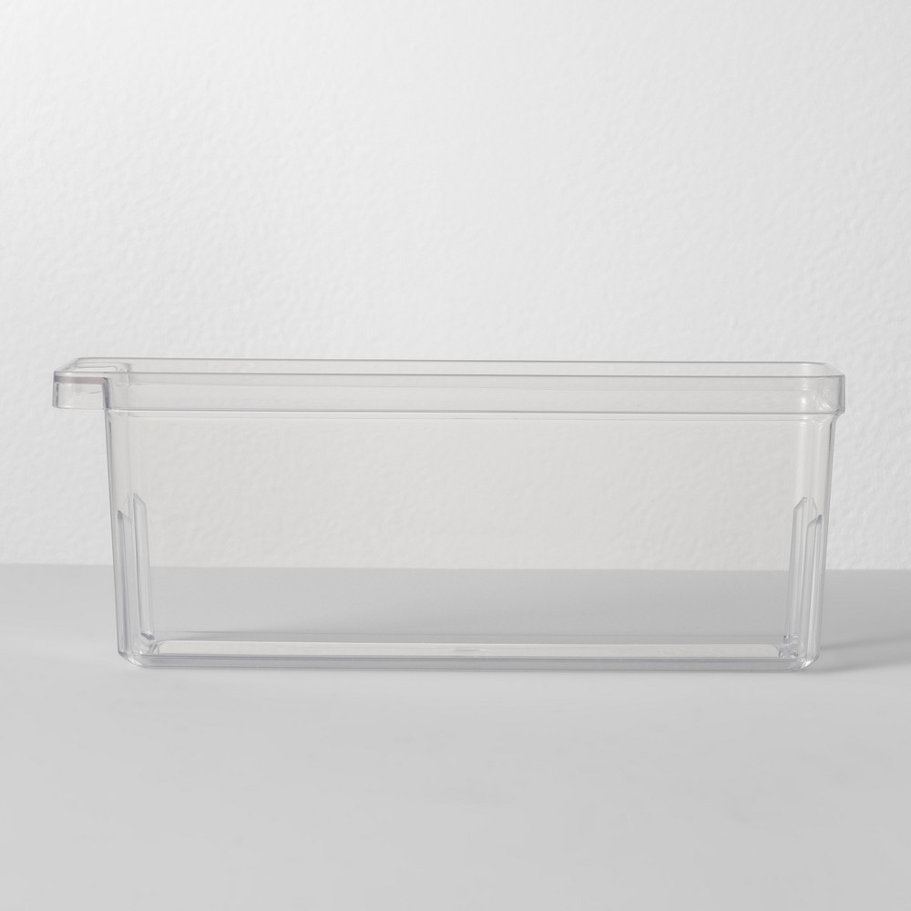 "Image of ""3""""W X 10.5""""D X 4""""H Plastic Kitchen Organizer - Made By Design , Clear"""