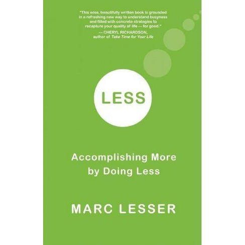 Less - by  Marc Lesser (Paperback) - image 1 of 1