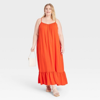 Women's Plus Size Floating Dress - Ava & Viv™