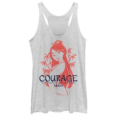 Women's Mulan Courage Racerback Tank Top