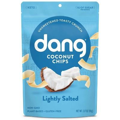 Dang Lightly Salted Coconut Chips - 3.17oz