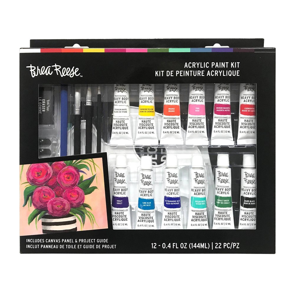 Image of Brea Reese 22pc Acrylic Paint Kit