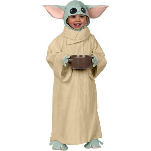 Costume Halloween Yoda.Toddler Star Wars Mandalorian The Child Baby Yoda Halloween Costume Jumper Target