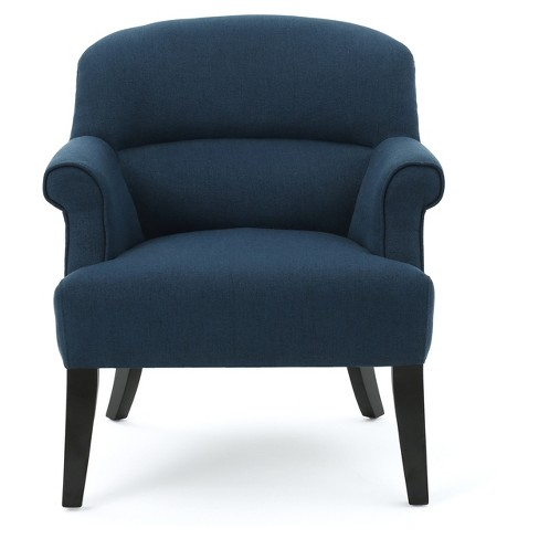 Amelie Upholstered Club Chair - Christopher Knight Home - image 1 of 4