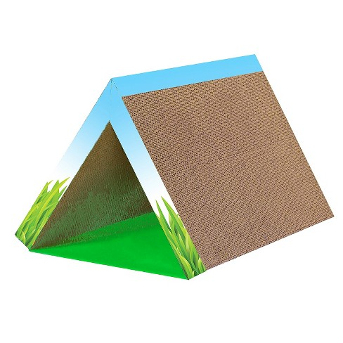 Petstages Invironment Fold Away Scratching Tunnel and Scratching Post Cat Toy - image 1 of 1