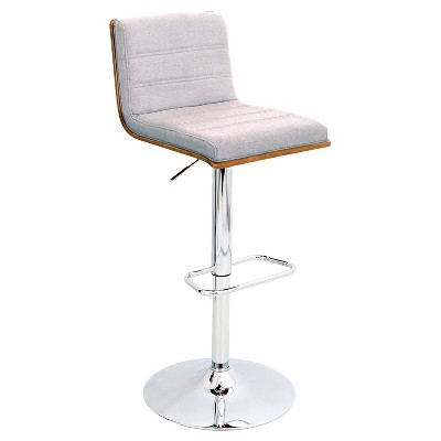 Vasari Adjustable Barstool Metal - LumiSource