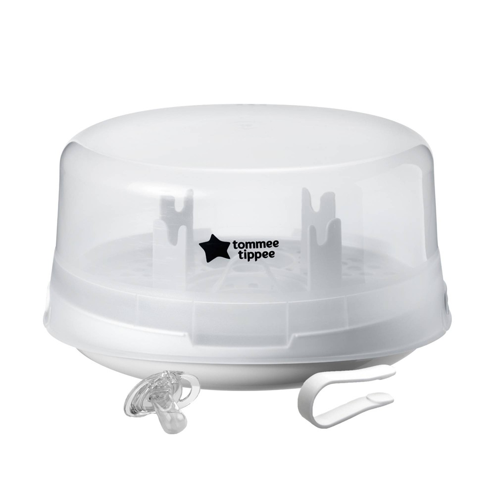 Image of Tommee Tippee Microwave Steam Sterilizer, White