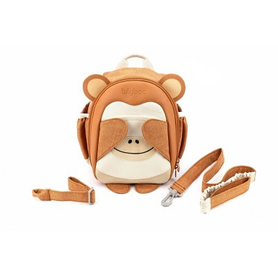 Lulyboo Boo! Monkey Toddler Backpack with Security Harness