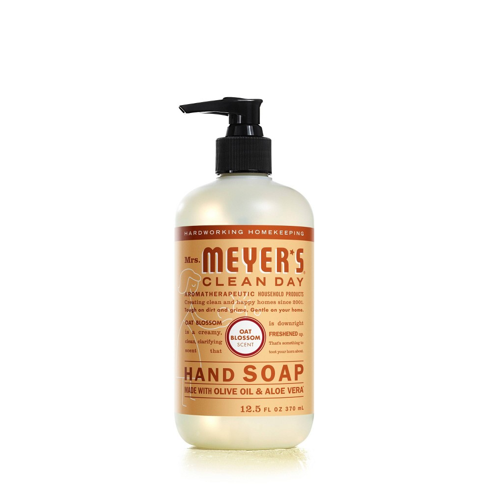 Image of Mrs. Meyer's Clean Day Liquid Hand Soap Oat Blossom - 12.5oz