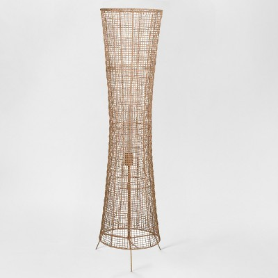 Natural Woven Ambient Floor Lamp Natural (Includes Energy Efficient Light Bulb)- Project 62™ + Leanne Ford
