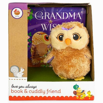 Grandma Wishes Gift Set - (Book and Cuddly Plush Toy Friend)by Julia Lobo (Mixed media product)