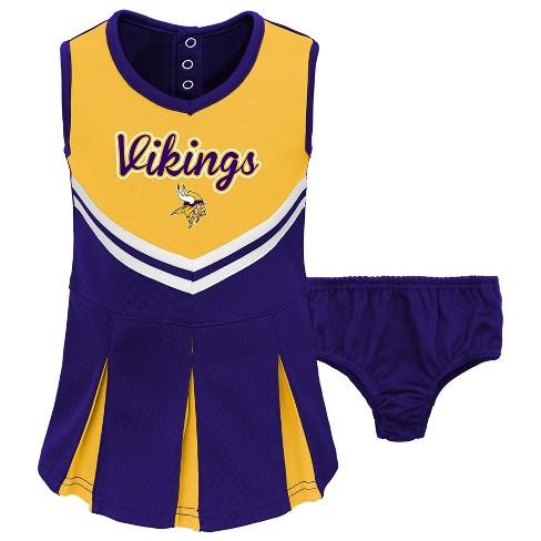 Minnesota Vikings Infant-Toddler In The Spirit Cheer Set 4T   Target 89c681392
