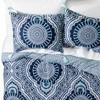 Blue Akina Comforter Set - Mudhut™ - image 2 of 3