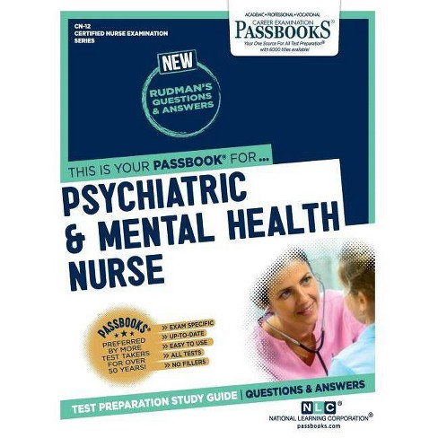 Psychiatric and Mental Health Nurse - by National Learning Corporation  (Paperback)