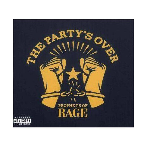 Prophets of Rage (Supergroup) - Party's Over (CD) - image 1 of 1