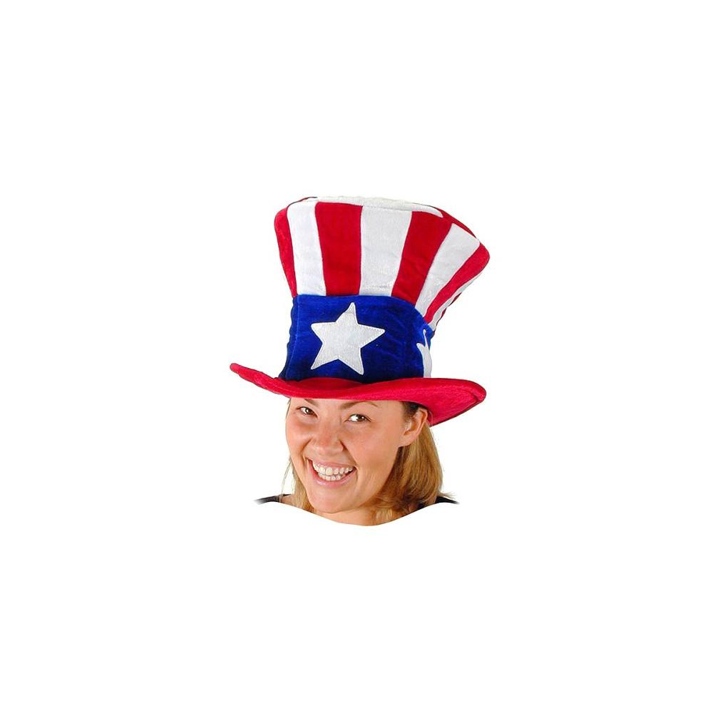Men's Uncle Sam Hat, Costume Headwear