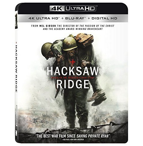 Hacksaw Ridge (4K/UHD + Blu-ray + Digital) - image 1 of 1