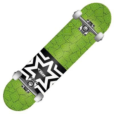 Roller Derby Square Skateboard - Green/Black