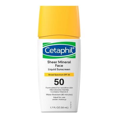 Cetaphil Sheer Mineral Face Liquid Drops - SPF 50 - 1.7 fl oz