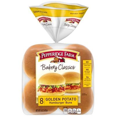 Pepperidge Farm Baker Classics Golden Potato Hamburger Buns - 15oz/8pk