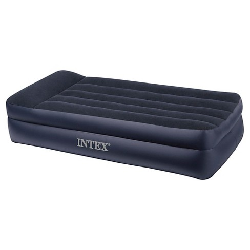 Intex Air Twin Bed with Box Spring - Navy - image 1 of 2