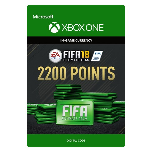 FIFA 18: Ultimate Team Card 2200 Points - Xbox One (Digital)