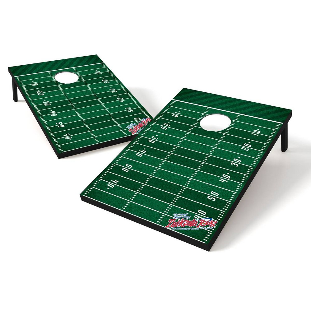 Image of Wild Sports Tailgate Toss Bean Bag Game 2'x3' Football Field