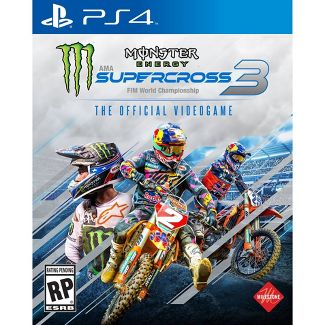 Monster Energy Supercross 3: The Official Video Game - PlayStation 4