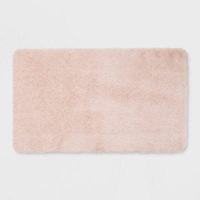 20 X34  Performance Solid Nylon Bath Rugs And Mats Porcelain Pink - Threshold™