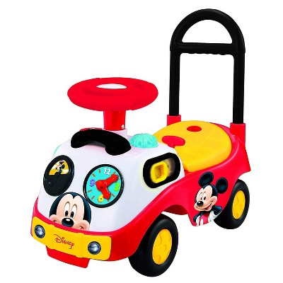 Kiddieland Toys 048116 My First Mickey Musical Toddler Ride On Push Toy Car