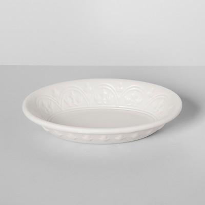 Mallorca Porcelain Soap Dish White - Opalhouse™