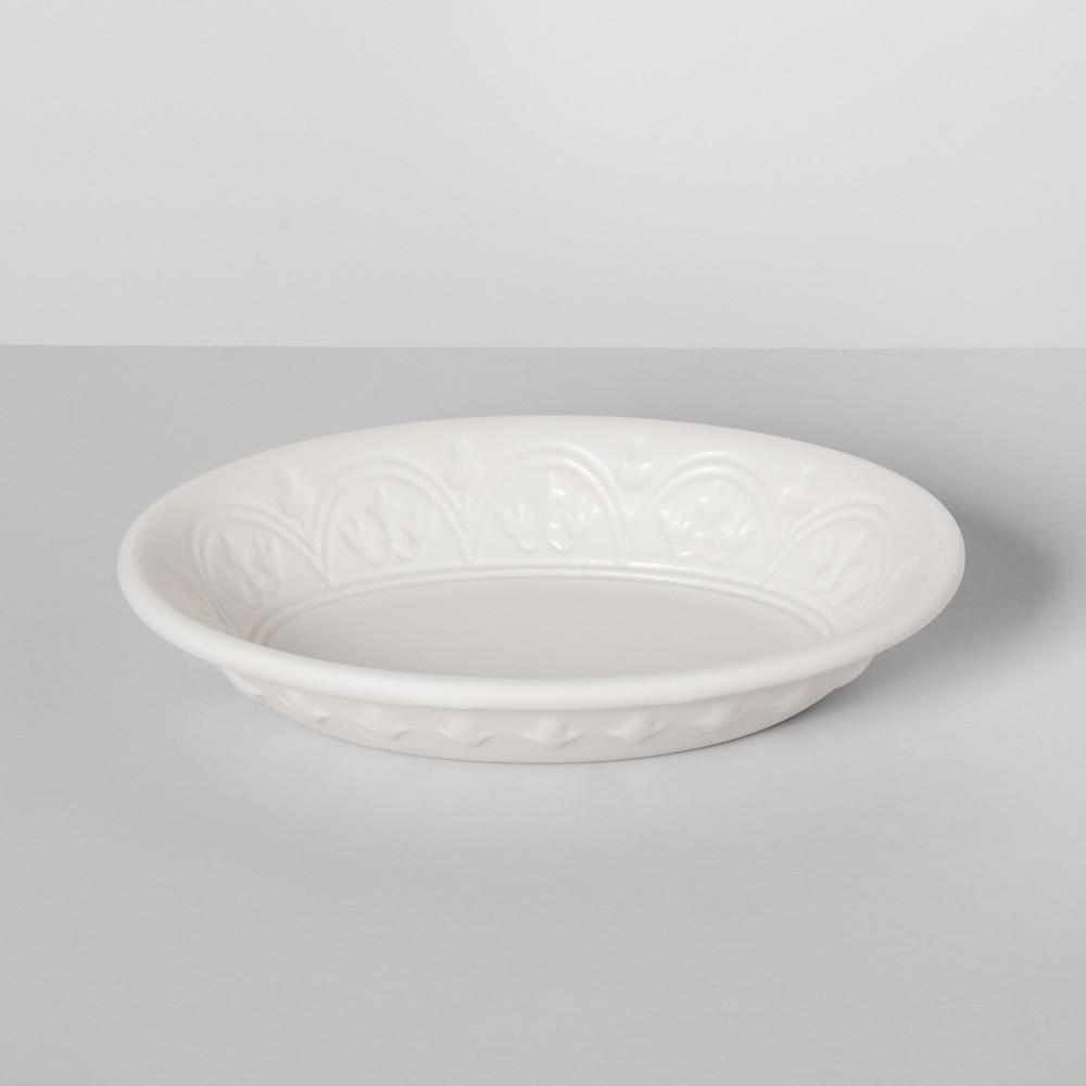 Mallorca Porcelain Soap Dish White Opalhouse 8482