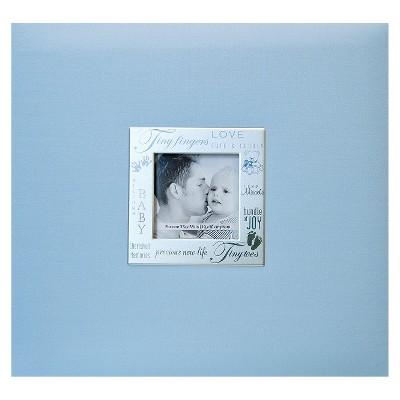 Baby Expressions Postbound Album - Blue (8x8 )