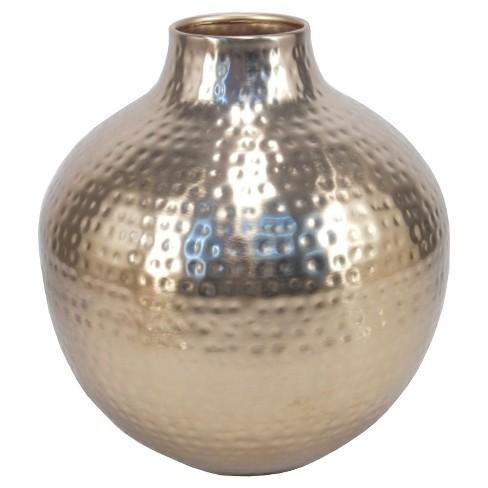 95 Gold Metallic Vase Threshold Target